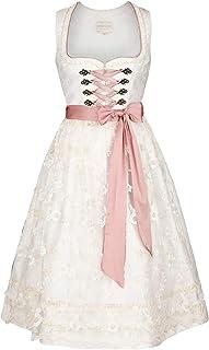Krüger Damen Collection Hochzeits-Dirndl Creme rosa, 239-CREME/ROSA, 42