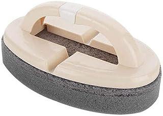 LULAA クリニングブラシ スポンジブラシ 折りたたみ式 ハンドル付き 水絞りやすい 泡立ちのよい 優れた洗浄能力 抗菌 耐熱 食器 シンク 壁 浴槽 ガラス キッチン 浴室 車用 2セット