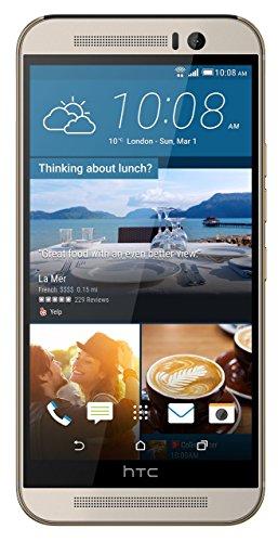 HTC One M9 UK SIM-freies Smartphone – Silber (Renewed)