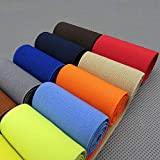 Weicher, elastischer Gummibund für Baby- und Kinderkleidung, 5 cm breit, Nylon-Gummiband, Nähzubehör Length 1 Yard, Width 5cm. blau