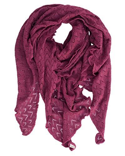 Invero, Merino driehoekige sjaal Susi, 100% wol