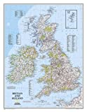 Britische Inseln: 1:1685000 (National Geographic Reference Map)