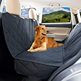 Dog Car Seat Cover for Large Dogs - Heavy Duty Dog Waterproof Backseat
