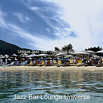 Unique Jazz Trio - Ambiance for Hotels