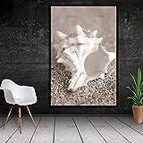 gqklsa conch beach nordic abstract natural landscape decorazione per pareti immagine 60x90cm