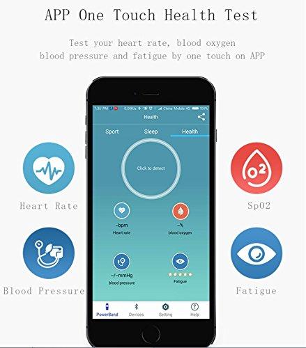 LJXAN Smart Pulsera Ritmo Cardíaco Presión Arterial Oxígeno Sangre ...