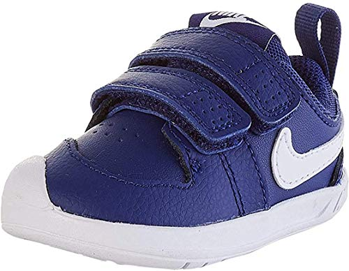 Nike Pico 5, Gymnastics Shoe Unisex-Baby, Deep Royal Blue/White, 19.5 EU