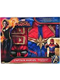 Rubie's Imagine Girl's Captain Marvel Boxed Dress Up Costume Set, Small