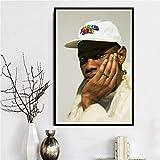 JIAYOUHUO Póster e impresiones Tyler Der Schöpfer Hip Hop Rapero Cantante Estrella A $ AP Rocky...