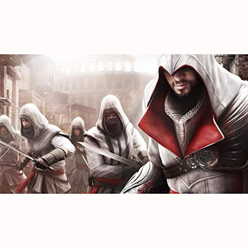 Credo de Assassin: Ezio Auditore Da Firenze Jigsaw Puzzles 300/500/1000/1500 Pieza para Adultos Adolescentes (Size : 500Pieces)