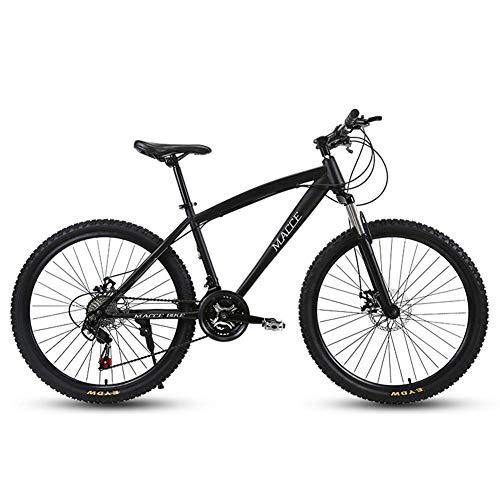 TYPO Bicicleta Bicicleta 24 Pulgadas, 24 velocidades Adultos Hombres y Mujeres Dual-Shock Racing Freno de Disco Velocidad Variable Estudiantes Marco de Acero de Alto Carbono Neumáticos Resistente