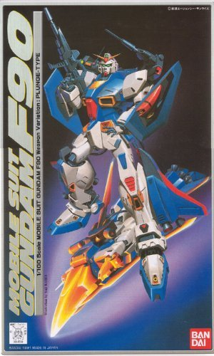 1/100 F90P Gundam F90-P type (atmospheric entry specification) (Mobile Suit Gundam F90)