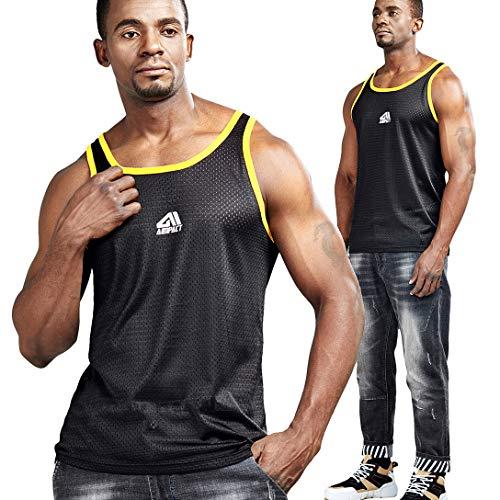 AIMPACT Men Athletic Workout Tank Top