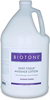Biotone Deep Tissue Massage Lotion, 128 Ounce