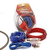 Zayaa Altavoces de Audio para automóvil Kits de Cama Kabel Versterker Subwoofer Installatie Draden Kit 10GA Cable de alimentación
