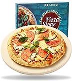 Pietra Refrattaria per Pizza da Forno e Barbecue - Tonda 30 cm Ø - Per un Impasto Croccante - Piastra Refrattaria