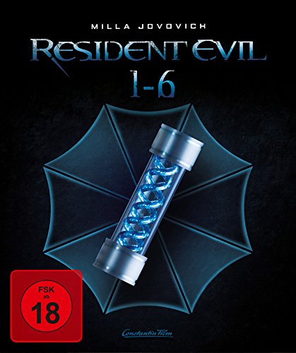 Resident Evil 1-6 - Complete Collection [Blu-ray] [Limited Edition]