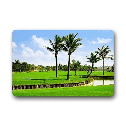 Homer Motif Balle de Golf Lavable Paillasson/Portail Pad 59,9 x 39,9 cm Intérieur/extérieur de Bain Décor de Cuisine Zone Tapis 59,9 x 39,9 cm Intérieur/extérieur