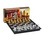 ajedrez metalico
