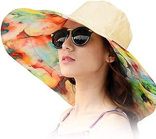 Women's Rain Hats Waterproof Rain Hat Wide Brim Bucket Hat Rain Cap Sun Hats