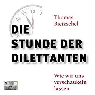 Die Stunde der Dilettanten Titelbild