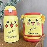 Lam Baby Sippy Cup Cartoon Cute Acciaio Inossidabile 316 Coppa coibentata per Bambini con Set Tazza Tazza di Acqua Portatile