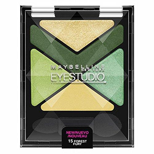 Maybelline New York Eye Studio Color Explosion Luminizing Eyeshadow, Forest Fury 15, 0.09 Ounce