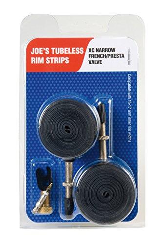 Joe's Flats Kit Convertidor A Rueda Tubeless, Unisex Adulto, Negro, 15-19 mm