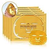 Revitale - Maschera viso in oro 24K, arricchita con collagene