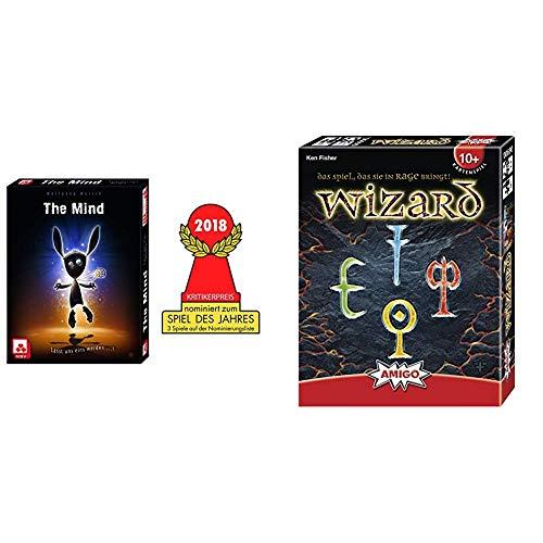 NSV - 4059 - The Mind - Kartenspiel & Amigo 6900 - Wizard, Kartenspiel