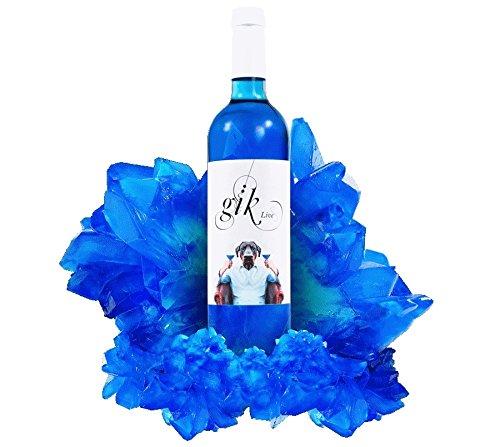 Vino azul (pack 6 botellas).