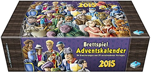 Frosted Games 6315 - Brettspiel - Adventskalender 2015