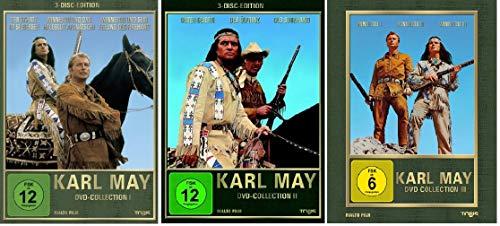 Karl May Collection 1-3 (1+2+3,1 bis 3) [DVD Set]