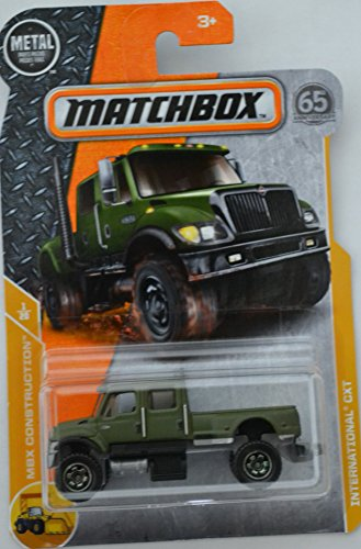 Green International CXT MatchBox MBX Construction Series 1:64 Scale Collectable Die Cast Model Car #1/20