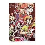 Sc-ott Pil-gri-m Vs The Wo-rld Rompecabezas de anime de madera, decoración familiar, regalos únicos para niños, niñas, adolescentes, 300 unidades