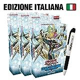 Fantàsia Structure Deck - Link Cyberso Italiano - Bundle 3X + Penna