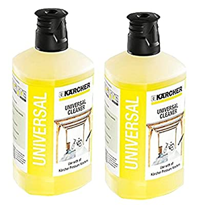 Karcher Universal Car Garden Patio Cleaner Pressure Washer Detergent K2 - K7 1 Litre x 2 from Karcher