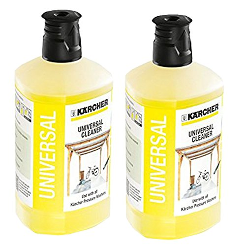 Karcher Universal Car Garden Patio Cleaner Pressure Washer Detergent K2 - K7 1 Litre x 2