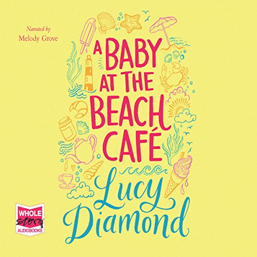 A Baby at the Beach Café audiobook cover art