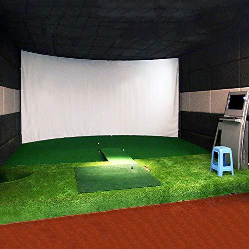 COLOR TREE 300x200cm/9.8x6.6ft Simulateur de Golf Impact Screen Projecteur écran