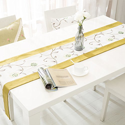 Nappes Moderne Simple Linge de Maison Sided Indicateur de Table Luxe Classique Sauvage Tapis de Table Table Basse Décoration Mobilier de Maison Serviette de lit