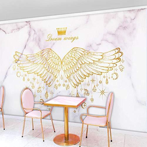 XQJBH Mural 3D papel pintado autoadhesivo póster para niños sala de baile vestidor ballet (W) 350x (H) 256cm fondo de pantalla fotos habitación de los niños dormitorio sala de estar pared fondo res