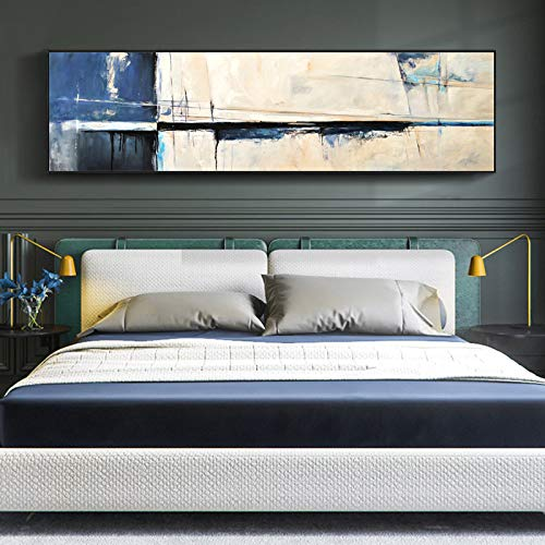 WSNDGWS nacht schilderij woonkamer achtergrond wanddecoratie schilderij geschilderd banner canvas schilderij zonder fotolijst