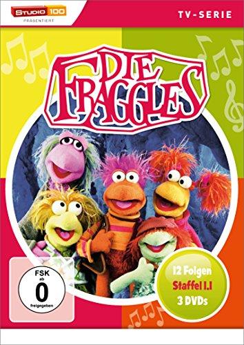 Preisvergleich Produktbild Die Fraggles - Season 1.1 (FSK ohne Altersbeschränkung) DVD