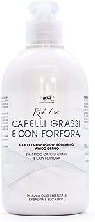 Champu Anticaspa Sin Sulfatos Ni Parabenos Cabello Graso Natural Ecologico Antigrasa Con Phyto keratina Shampoo Profesional