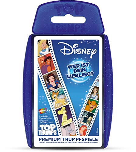 Winning Moves - Top Trumps, Disney Classic