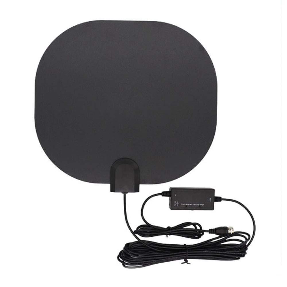 BangHaa Antena HDTV Digital, Amplificado Interior Antena de TV Digital, 60-95 Milla de Soporte del Rango 4K HD VHF UHF TDT Televisión Canales Locales: Amazon.es: Electrónica