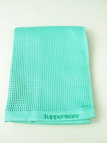 TUPPERWARE FaserPro Glas helles türkis T22 Fenster Glastuch Mikrofasertuch 30954