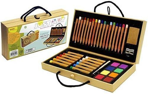 mas barato Xonex Just Just Just Art Set, 18 Colorojo Pencil Art Set by Xonex(R)  suministramos lo mejor
