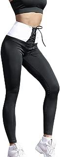 TnaIolral Women Legging Waist Yoga Solid Wing Print Running Trouser